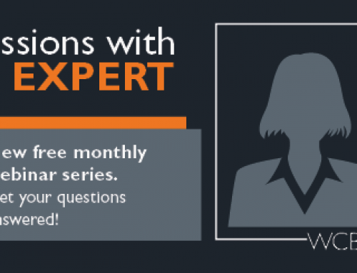 New webinar series: Sessions with an Expert