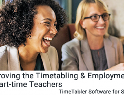 Improving the Timetabling & Employment of Part-time Teachers